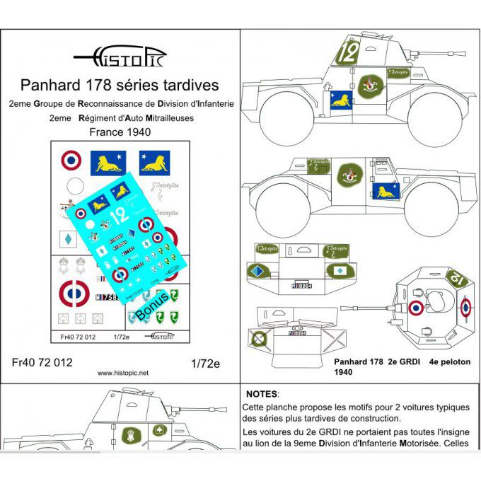 Panhard 178  séries tardives